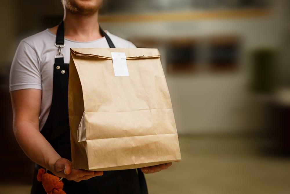 repartidor de comida que quiere aprender inglés online