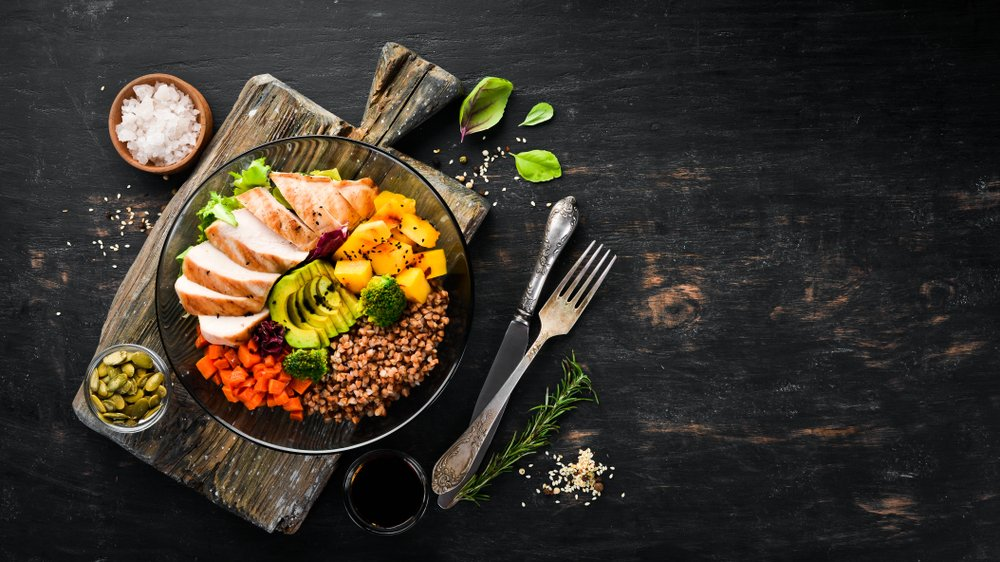 healthy meal for people who are learning online english