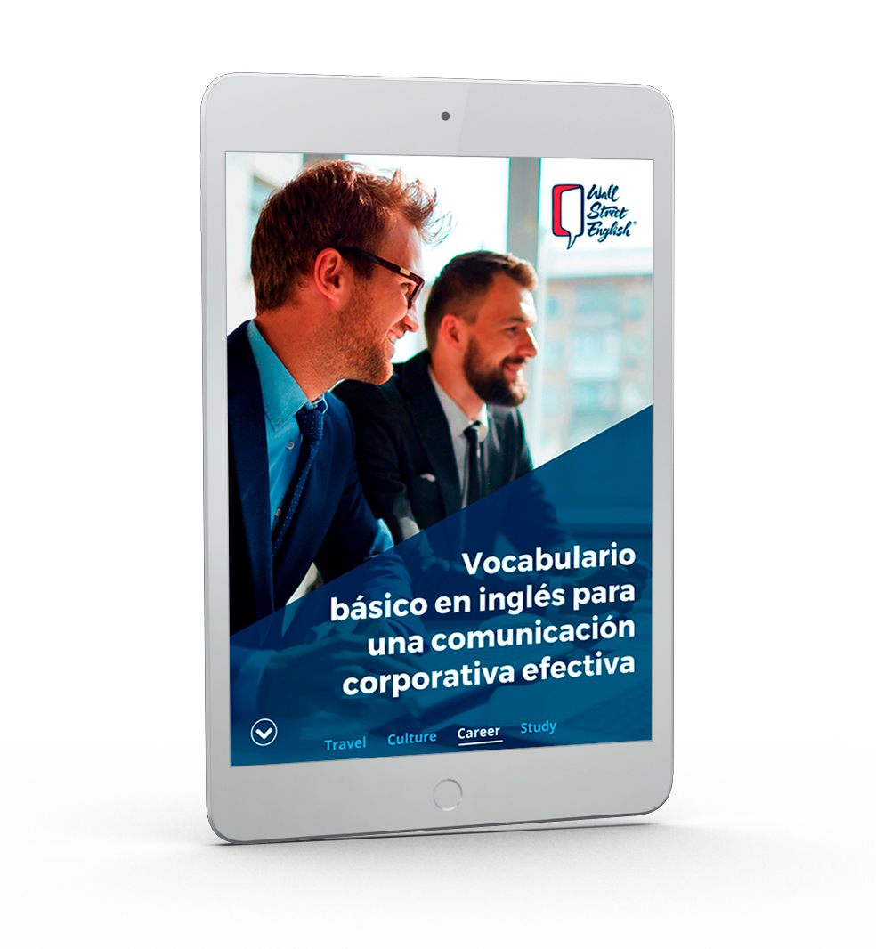 WSE -Ipad Vocabulario básico en inglés corporativo