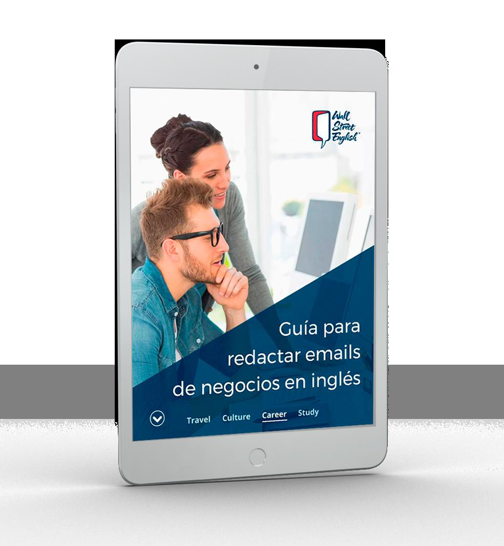 WSE -Ipad Guía para redactar emails de negocios en inglés