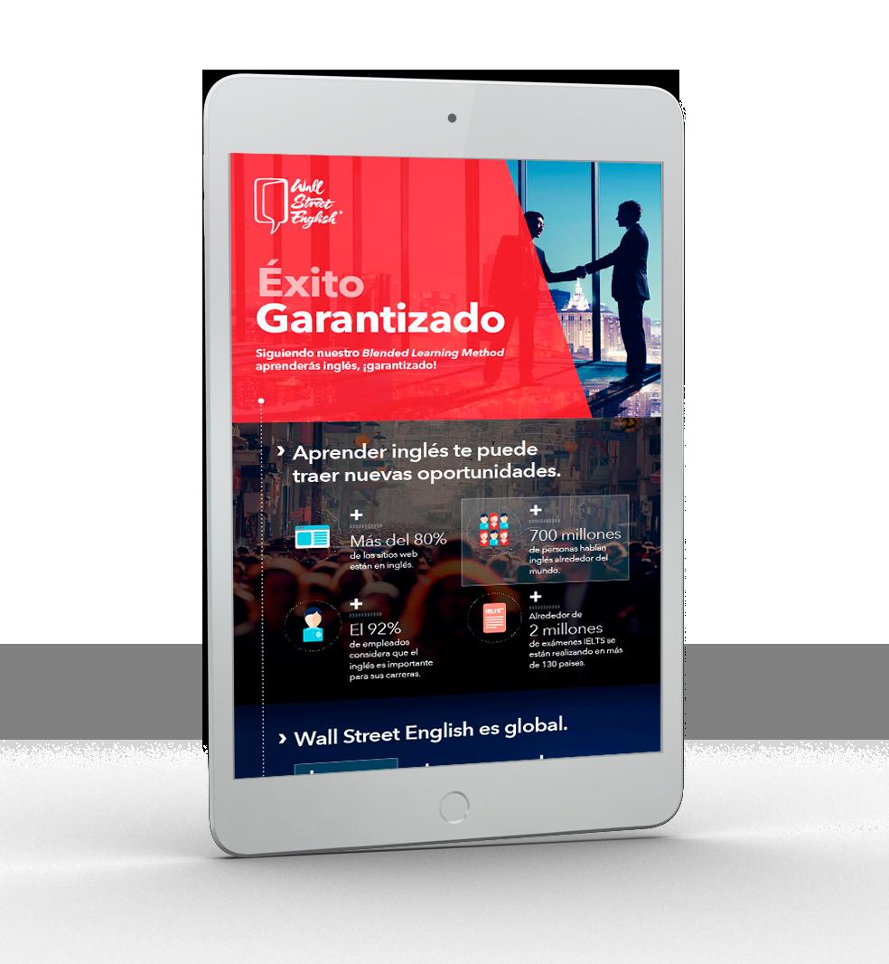 WSE -Ipad infografia-wse-exito-garantizado-portada